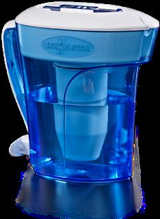 Water filter jugs by ZeroWater