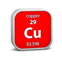 copper symbol cu 29