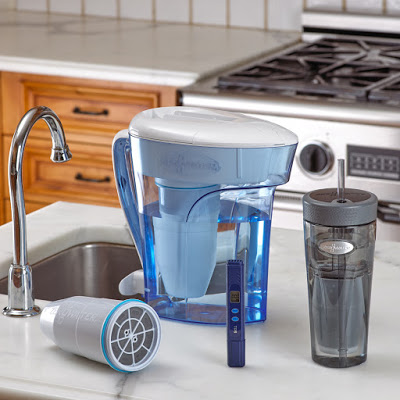 zerowater water filter jug, replacement filter and free TDS meter