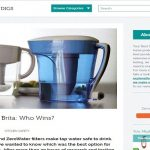 'YourBestDigs.com' recommends our ZeroWater 10 Cup Water Filter Jug!