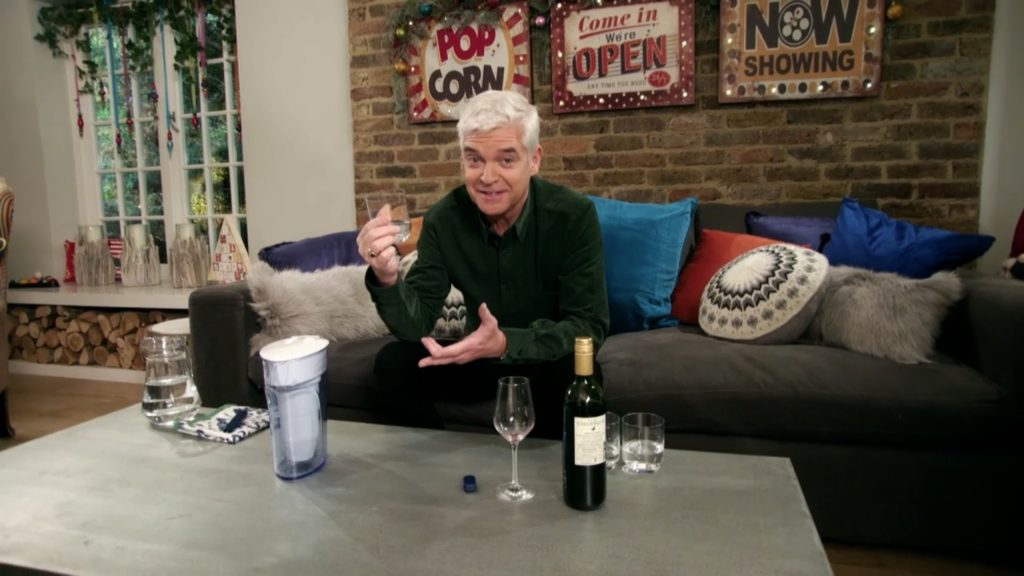 Phillip Schofield tests the ZeroWater 7 cup jug