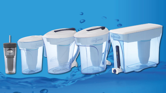 Filtered water for all family sizes!