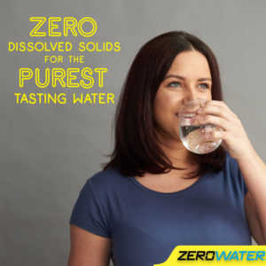 Save money by investing nin a water filter jug from ZeroWater