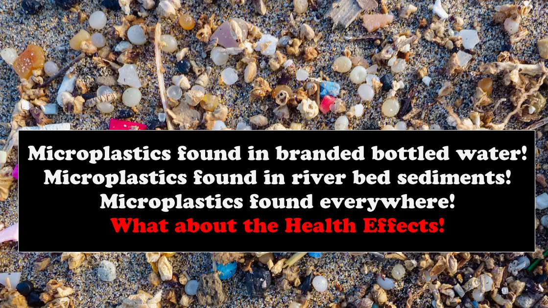 Microplastics in our enviroment - We discuss the health effects microplastics have on us and all animals