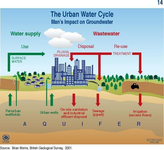Is Copper contaminating Your Tap Water? The Urban water cycle