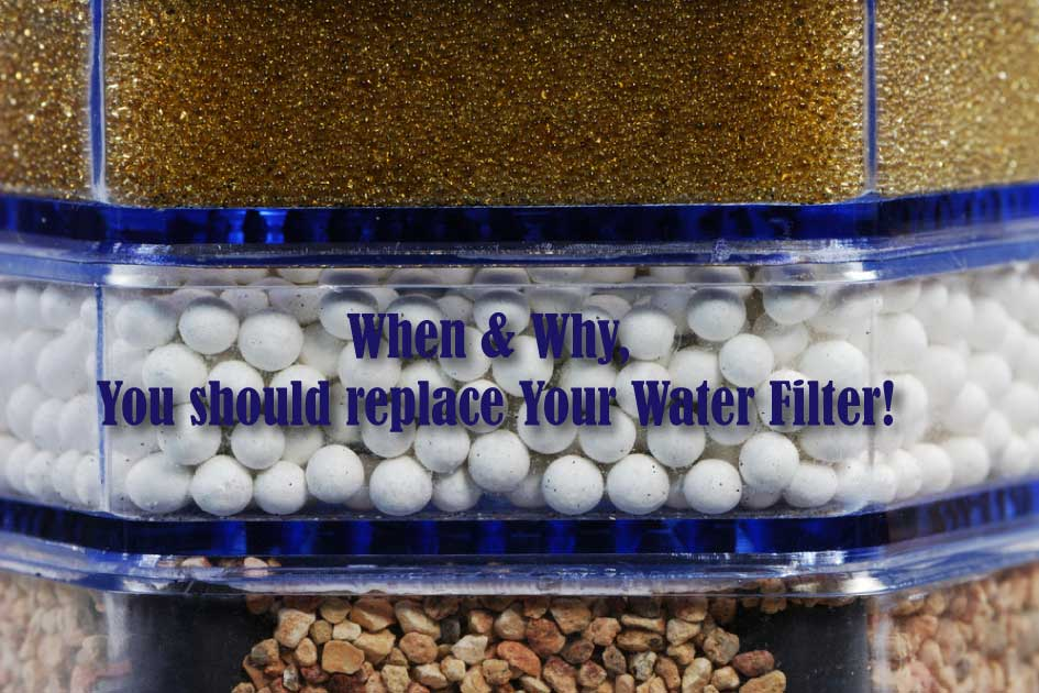 When & why you should replace your water filters!