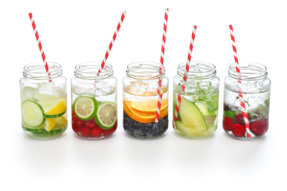Better Mental wellbeing when well hydrated with healthy and fruit infused water!