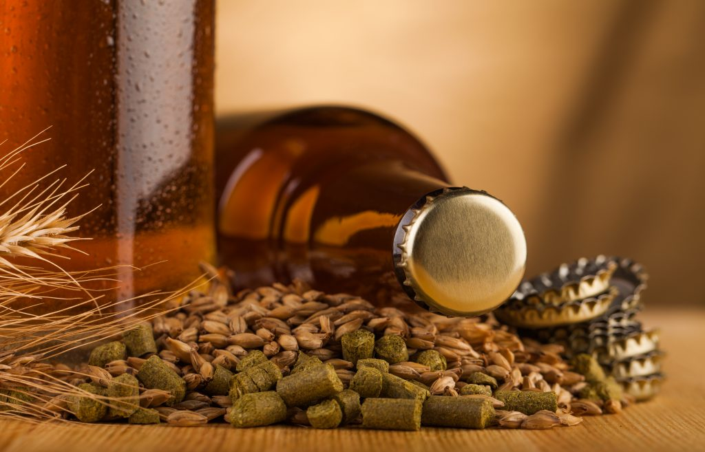 Better and tastier home-brewed Beers when prepared with filtered water! - Home-brwed beer and ingredients