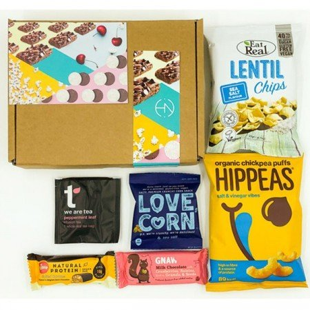 Healthy Mini Selection box as seen on Mini Box as seen on BoroughBox.