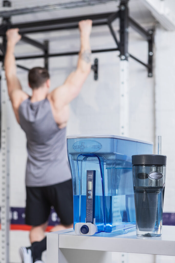 Hydration is Crucial when Exercising Post Lockdown! - Zerowater's portable solution is a must have.