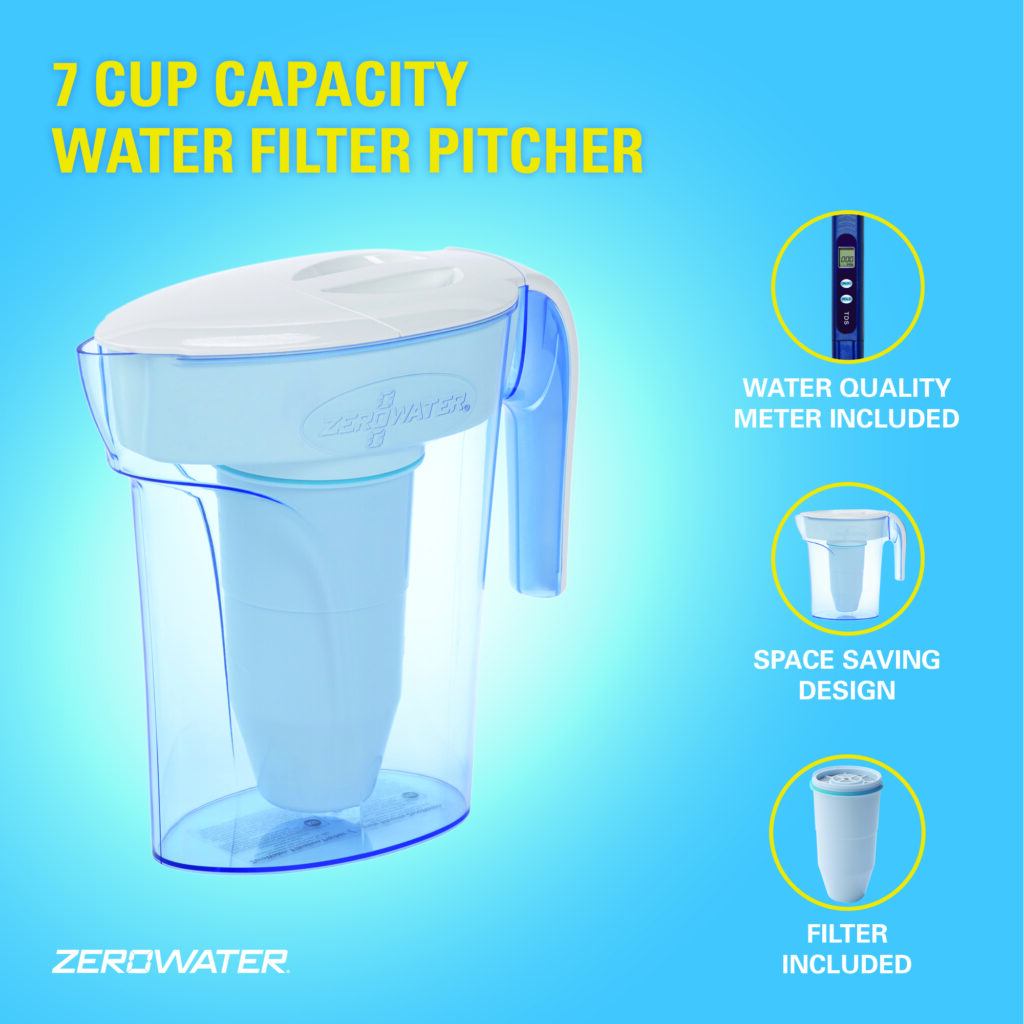 7 ZeroWater 7 CUP – 1.7L JUG - £24.99