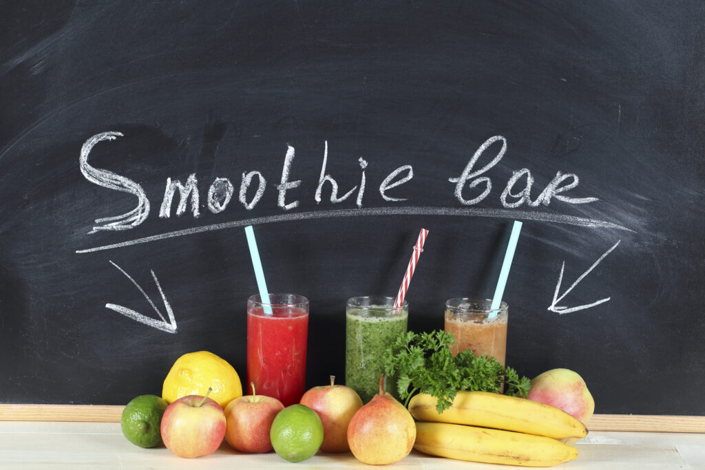 Healthy Recipes To Keep You Hydrated This Summer! - Smoothies for breakfast